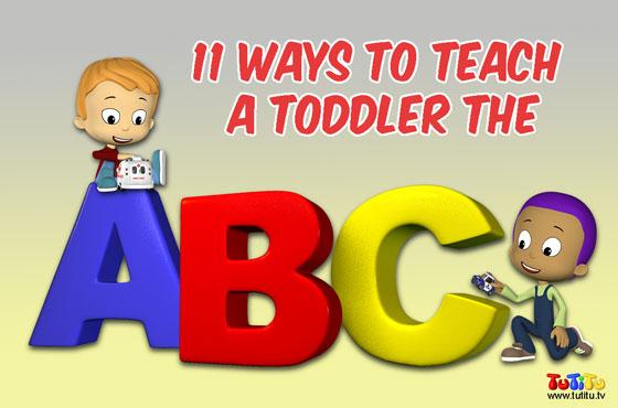 11 Ways to Teach a Toddler the Alphabet | TuTiTu Videos for Kids
