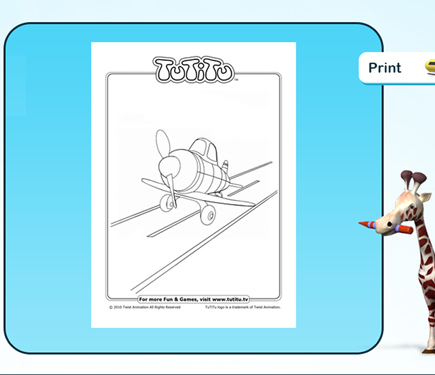 tutitu coloring pages for kids - photo#8