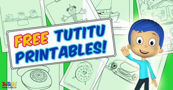 tutitu coloring pages for kids - photo#18